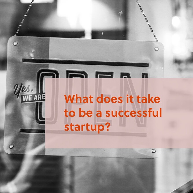 What does it take to be a successful business startup?